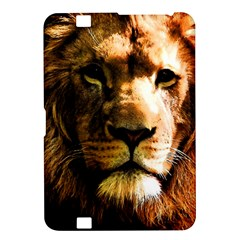 Lion  Kindle Fire Hd 8 9  by Valentinaart