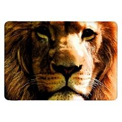 Lion  Samsung Galaxy Tab 8 9  P7300 Flip Case by Valentinaart