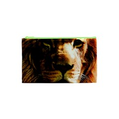 Lion  Cosmetic Bag (xs) by Valentinaart