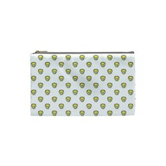 Angry Emoji Graphic Pattern Cosmetic Bag (small)  by dflcprints