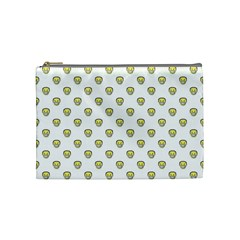 Angry Emoji Graphic Pattern Cosmetic Bag (medium)  by dflcprints