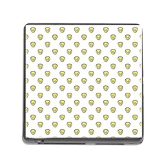 Angry Emoji Graphic Pattern Memory Card Reader (square) by dflcprints