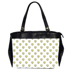 Angry Emoji Graphic Pattern Office Handbags (2 Sides)  by dflcprints