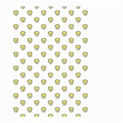 Angry Emoji Graphic Pattern Small Garden Flag (two Sides) by dflcprints