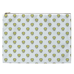 Angry Emoji Graphic Pattern Cosmetic Bag (xxl)  by dflcprints