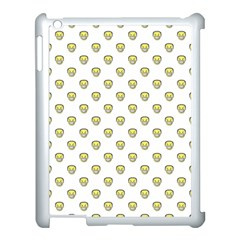 Angry Emoji Graphic Pattern Apple Ipad 3/4 Case (white) by dflcprints