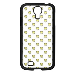 Angry Emoji Graphic Pattern Samsung Galaxy S4 I9500/ I9505 Case (black) by dflcprints