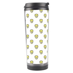 Angry Emoji Graphic Pattern Travel Tumbler by dflcprints