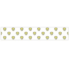Angry Emoji Graphic Pattern Flano Scarf (large)  by dflcprints