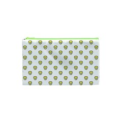 Angry Emoji Graphic Pattern Cosmetic Bag (xs) by dflcprints