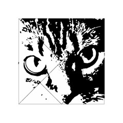 Cat Acrylic Tangram Puzzle (4  X 4 ) by Valentinaart