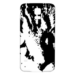 Cat Samsung Galaxy S5 Back Case (white) by Valentinaart