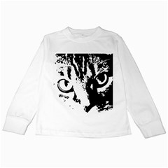 Lion  Kids Long Sleeve T Shirts by Valentinaart