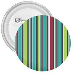 Colorful Striped Background  3  Buttons by TastefulDesigns
