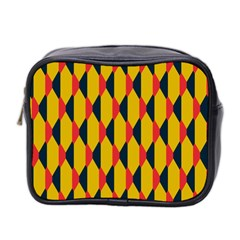 Triangles Pattern       Mini Toiletries Bag (two Sides) by LalyLauraFLM