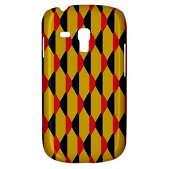 Triangles Pattern Samsung Galaxy Ace Plus S7500 Hardshell Case by LalyLauraFLM