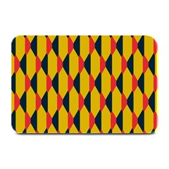 Triangles Pattern      Large Bar Mat by LalyLauraFLM