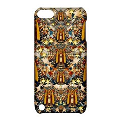 Lady Panda Goes Into The Starry Gothic Night Apple Ipod Touch 5 Hardshell Case With Stand by pepitasart