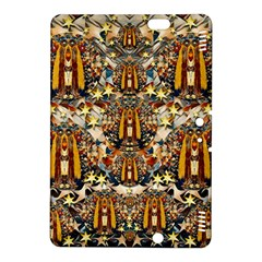 Lady Panda Goes Into The Starry Gothic Night Kindle Fire Hdx 8 9  Hardshell Case by pepitasart
