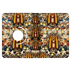 Lady Panda Goes Into The Starry Gothic Night Kindle Fire Hdx Flip 360 Case by pepitasart