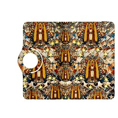 Lady Panda Goes Into The Starry Gothic Night Kindle Fire Hdx 8 9  Flip 360 Case by pepitasart