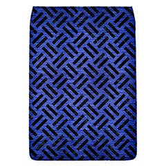 Woven2 Black Marble & Blue Brushed Metal (r) Removable Flap Cover (s) by trendistuff