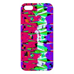 Colorful Glitch Pattern Design Iphone 5s/ Se Premium Hardshell Case by dflcprints