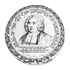 Seal Of Berkeley, California Ornament (round Filigree) by abbeyz71