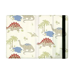 Dinosaur Art Pattern iPad Mini 2 Flip Cases by Gogogo