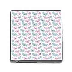 Cute Pastel Butterflies Memory Card Reader (square) by tarastyle