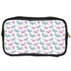 Cute Pastel Butterflies Toiletries Bags 2 Side by tarastyle
