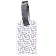 Cute Pastel Butterflies Luggage Tags (one Side)  by tarastyle