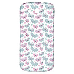 Cute Pastel Butterflies Samsung Galaxy S3 S Iii Classic Hardshell Back Case by tarastyle