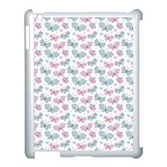 Cute Pastel Butterflies Apple Ipad 3/4 Case (white) by tarastyle