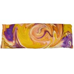 Yellow Marble Body Pillow Case Dakimakura (two Sides) by tarastyle
