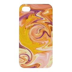 Yellow Marble Apple Iphone 4/4s Premium Hardshell Case