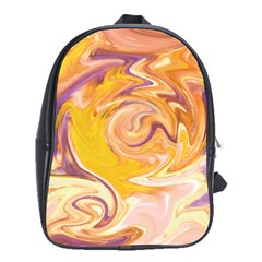 Yellow Marble School Bags (xl)