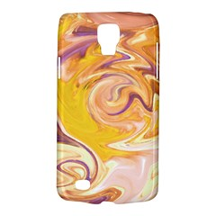 Yellow Marble Galaxy S4 Active by tarastyle