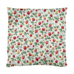 Strawberry Pattern Standard Cushion Case (two Sides) by Valentinaart