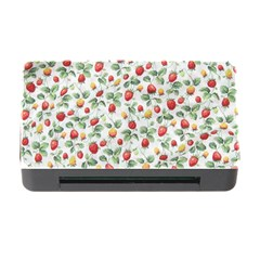 Strawberry Pattern Memory Card Reader With Cf by Valentinaart