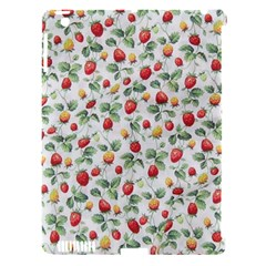 Strawberry Pattern Apple Ipad 3/4 Hardshell Case (compatible With Smart Cover) by Valentinaart