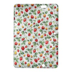 Strawberry Pattern Kindle Fire Hdx 8 9  Hardshell Case by Valentinaart