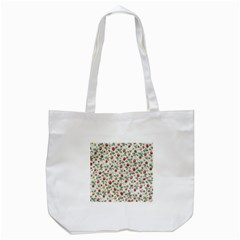 Strawberry Pattern Tote Bag (white) by Valentinaart