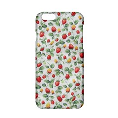 Strawberry Pattern Apple Iphone 6/6s Hardshell Case by Valentinaart