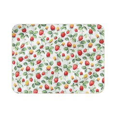 Strawberry Pattern Double Sided Flano Blanket (mini)  by Valentinaart