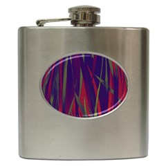Pattern Hip Flask (6 Oz) by Valentinaart