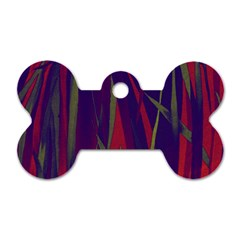 Pattern Dog Tag Bone (two Sides) by Valentinaart