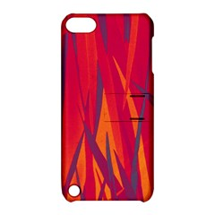 Pattern Apple Ipod Touch 5 Hardshell Case With Stand by Valentinaart