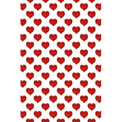 Emoji Heart Shape Drawing Pattern 5 5  X 8 5  Notebooks by dflcprints