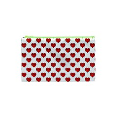 Emoji Heart Shape Drawing Pattern Cosmetic Bag (xs) by dflcprints